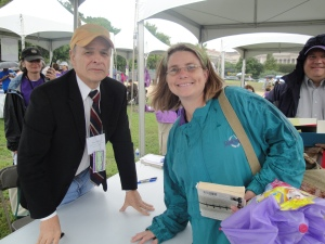 Meeting Tim O'Brien, writer of one of my favorite books, The Things They Carried.