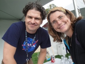 Meeting Dave Eggers, who wrote one of my many favorite books, What is the What.