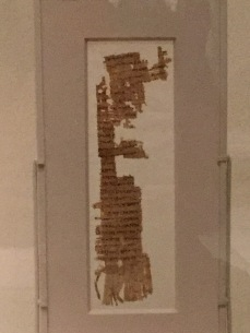 A parchment with the Odyssey on it